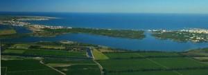 Baie Aigues-Mortes Etang du Ponant