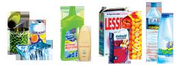 Emballages recyclables : cartonnettes et bouteilles en plastique