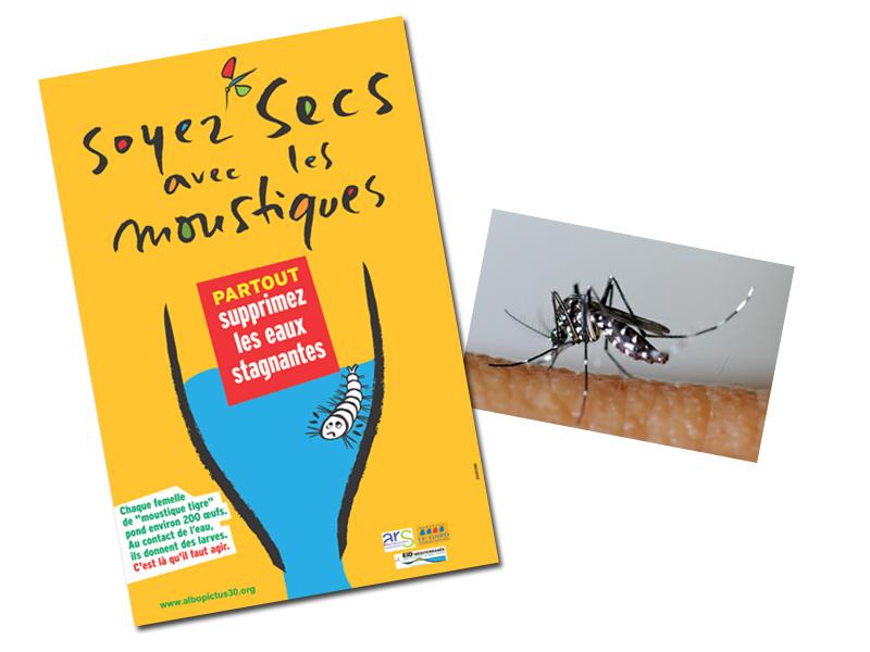 soyez sec avec les moustiques