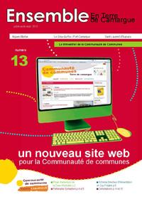 Couverture du bulletin communautaire de juillet 2012