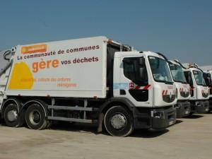 Camions de collecte des déchets
