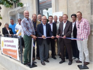 Inauguration de la nouvelle bibliothèque Intercommunale de Saint Laurent d'Aigouze