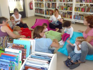 Ouverture de la nouvelle bibliothèque intercommunale de secteur de Saint Laurent d'Aigouze