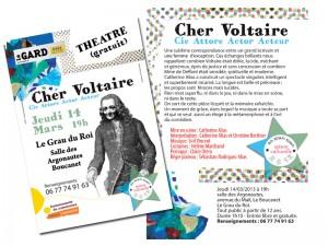 Théâtre Cher Voltaire