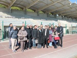 Visite équipements sportifs CCTC