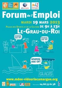 Forum de l'emploi 2013 - Le Grau du Roi