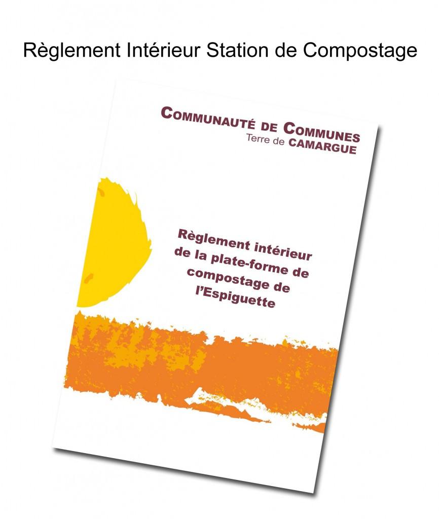 couverture règlement intérieur station de compostage