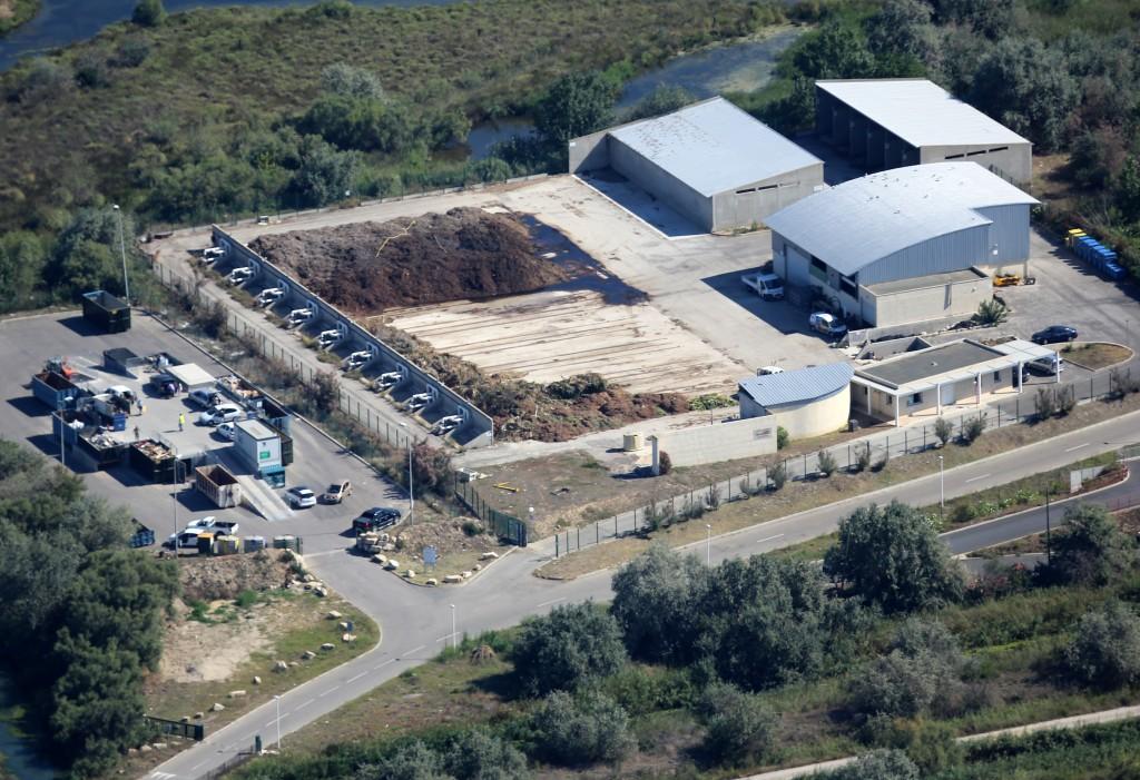 station de compostage de l'Espiguette
