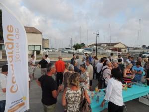 L'inauguration de la rue du Port le 10 juin, un moment convivial avec les riverains