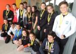championnat académique d'aviron 2016 : première place pour le collège Joliot-Curie d'Aigues-Mortes