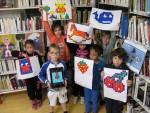 Ateliers créatifs dans les médiathèques Terre de Camargue : le pixel art