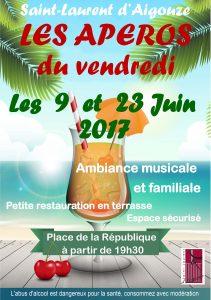 Les Apéros du vendredi à St-Laurent d'Aigouze