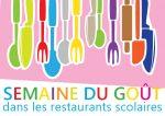 Semaine du goût dans les restaurants scolaires sur le thème des 5 sens