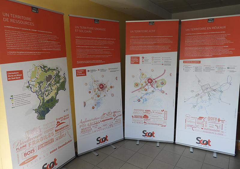 Exposition sur les orientations du SCoT Sud Gard