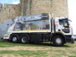 5 camions 26 tonnes au gaz naturel