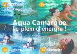 Piscine Aqua Camargue : natation, aquagym, aquabike, aquatraining, aquaphobie, espace détente (jacuzzi, hammam, sauna)...