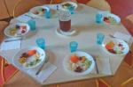 Ronde de légumes au restaurant Tabarly au Grau du Roi