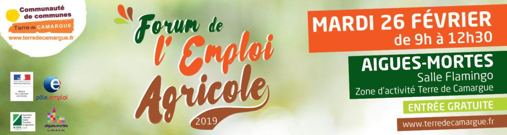 forum de l u2019emploi agricole 2019
