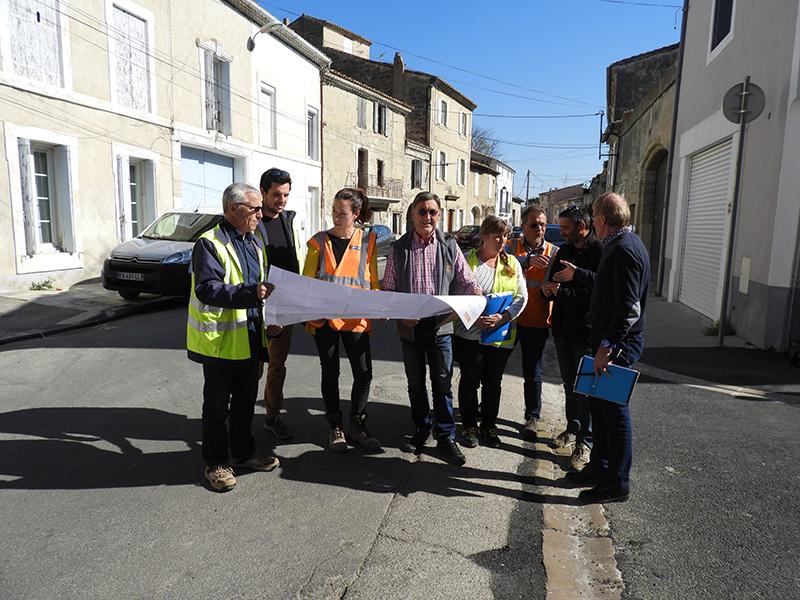 1 million d'euros de travaux pour l'eau et l'assainissement avenue Jean Jaurès et rue Carnot à Saint-Laurent d'Aigouze