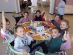 Repas des chefs au restaurant scolaire Séverin