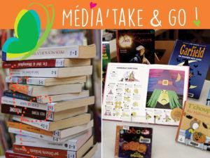 Média'Take&Go : service de prêt de documents sur rendez-vous dans les médiathèques en Terre de Camargue