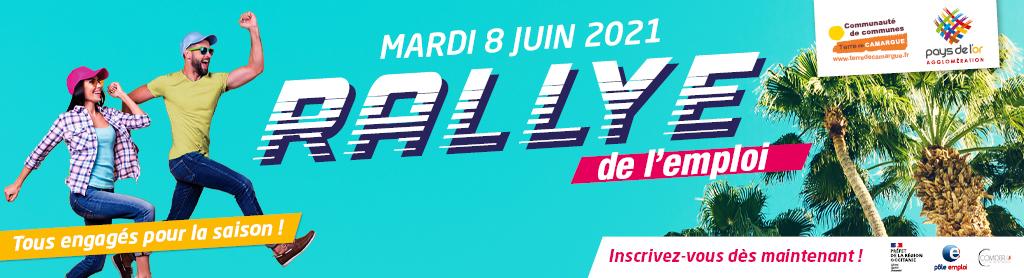 Rallye de l'emploi saisonnier à Aigues-Mortes en Terre de Camargue mardi 8 juin 2021