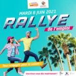 Rallye de l'emploi saisonnier à Aigues-Mortes le 8 juin 2021