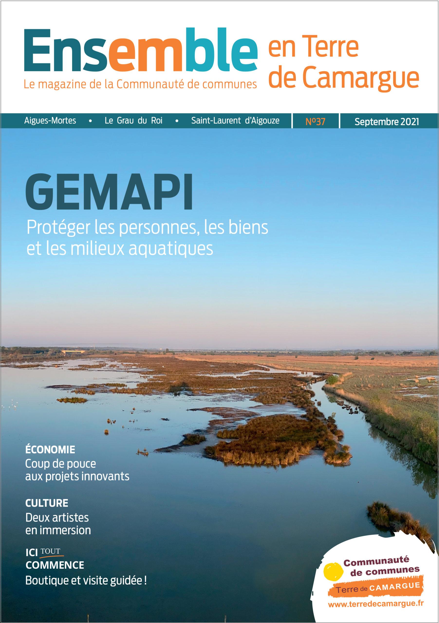 Magazine Ensemble en Terre de Camargue n°37, septembre 2021