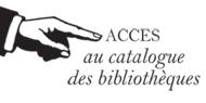 Accès Catalogue