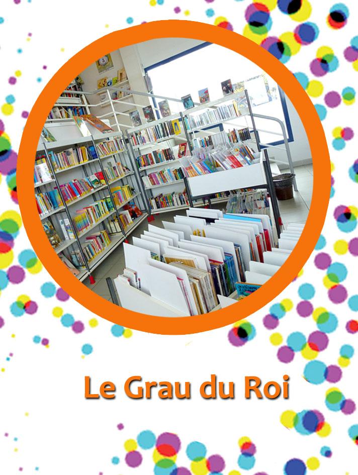 bibliothèque Le Grau du Roi