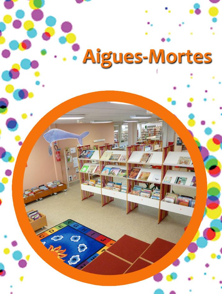 bibliothèque Aigues-Mortes