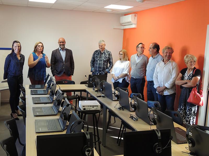 Inauguration du nouvel espace dédié à l'emploi en Terre de Camargue