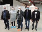 Ouverture d'un centre de vaccination congtre la Covid-19 à Aigues-Mortes